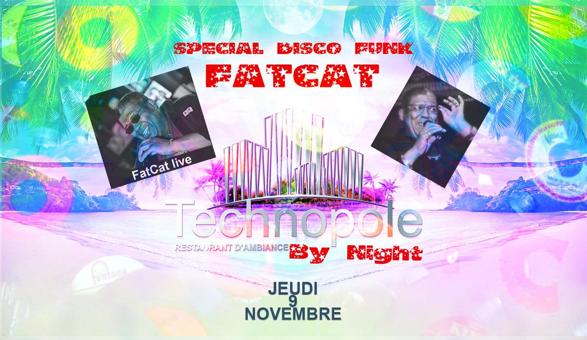 FATCAT live a la TECHNOPOLE